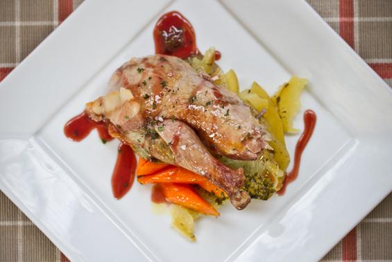 bacon wraped pheasant